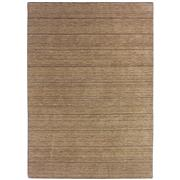Sale 8918C - Lot 43 - India Silver/Grey Lines Handknotted Rug, 160x230cm, Wool & Bamboo Silk