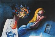Sale 9009A - Lot 5067 - Charles Blackman (1918 - 2018) - Sleeping Alice 28.5 x 41.5 cm (frame: 52 x 64 x 3 cm)