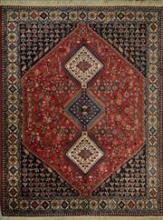 Sale 8424C - Lot 50 - Persian Yalama 194cm x 180cm