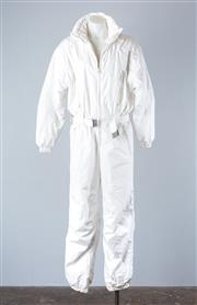 Sale 8782A - Lot 187 - A white ski suit by Killy Diffusion, approx size 10