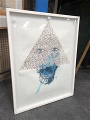 Sale 8811 - Lot 2050 - Troy Archer, Invention of Dying watercolour on paper, 90 x 69cm