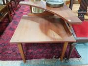 Sale 8822 - Lot 1160 - Teak Corner Two Tier Coffee Table
