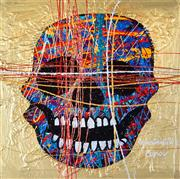Sale 9034A - Lot 5009 - Constantine Popov (1965 - ) - Skull 50 x 50 cm (frame: 70 x 70 x 4 cm)