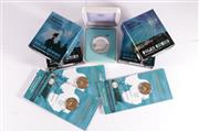 Sale 9035M - Lot 814 - Collection of Royal Australian Mint Polar Series International Polar Year silver $5 proof coins (5) with three UNC $1 coins