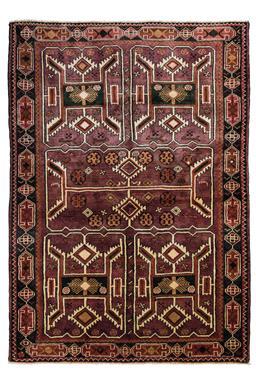 Sale 9124C - Lot 27 - Persian Nomadic Lori,150x220Cm, Handspun Wool