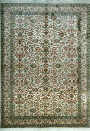 Sale 8290A - Lot 36 - Kashmiri Silk 235cm x 155cm RRP $6000