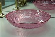 Sale 8340 - Lot 17 - Australian Art Glass Signed Platter