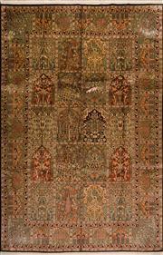 Sale 8447C - Lot 22 - Kashmiri Silk 275cm x 185cm