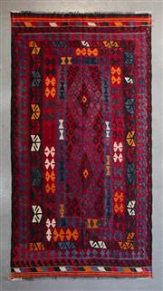 Sale 8480C - Lot 51 - Afghan Kilim 262cm x 140cm