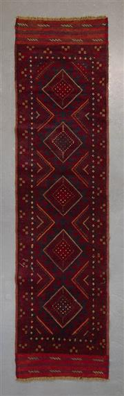 Sale 8493C - Lot 2 - Persian Baluchi 255cm x 60cm