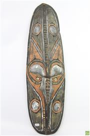 Sale 8635W - Lot 62 - PNG Tribal Mask