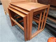 Sale 8741 - Lot 1037 - G Plan Teak Quadrille Nest of Tables
