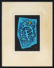 Sale 8794A - Lot 5057 - Haku Maki (1924 - 2000) - Tortoise - 8, 1977 16 x 11cm