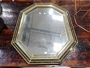Sale 8834 - Lot 1038 - Octagonal Mirror