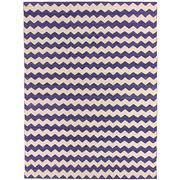 Sale 8890C - Lot 89 - Afghan Contemporary Zigzag Flatweave Carpet, 338x253cm, Handspun Ghazni Wool
