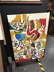 Sale 8906 - Lot 2063 - Stephane - Untitled (Abstract) oil on canvas, 92 x 61cm, signed