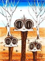 Sale 9009A - Lot 5027 - Peter Browne (1947 - ) - Ed, Edd, and Eddie 39 x 29 cm (58 x 48 x 4 cm)