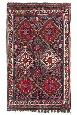 Sale 9124C - Lot 28 - Antique Persian Qashgai, 155X255CM, Handspun wool