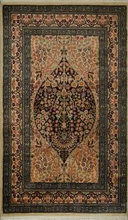 Sale 8424C - Lot 52 - Indian Kashan 156cm x 90cm