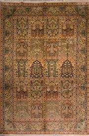 Sale 8447C - Lot 23 - Kashmiri Silk 280cm x 190cm