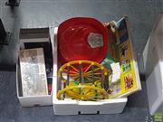 Sale 8582 - Lot 2485 - Two Boxes of Toys incl Matchbox, Vintage etc