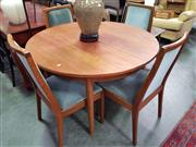 Sale 8661 - Lot 1018 - G-Plan Table and Set of Four Chairs