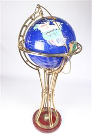 Sale 8681 - Lot 35 - Globe of the World on Brass Stand (H 105cm)