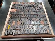 Sale 8724 - Lot 1030 - Collection of Printers Blocks in Tray