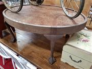 Sale 8822 - Lot 1196 - Timber Oval Coffee Table