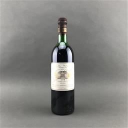 Sale 9120 - Lot 1015 - 1978 Chateau Margaux, 1er Cru Classe, Margaux - high shoulder