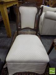 Sale 8495F - Lot 1071 - Victorian Bedroom Chair