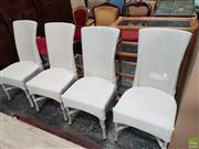 Sale 8601 - Lot 1519 - Set of Four Lloyd Loom Dining Chairs
