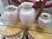 Sale 8676 - Lot 1310 - Set of Three Italian Hand Made Graduating Vases