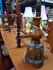 Sale 8822 - Lot 1189 - Pair of Italian Made Pottery Table Lamps