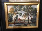 Sale 8841 - Lot 2073 - Artist Unknown, European Landscape, Oil, 45x60cm