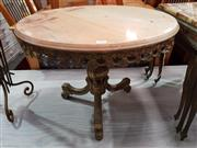 Sale 8934 - Lot 1091 - Gilt Based Occasional Table