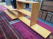 Sale 8451 - Lot 1050 - Modernist Stepside Bookcase