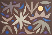 Sale 8510 - Lot 517 - John Coburn (1925 - 2006) - Winter, 1980 79 x 53cm