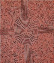 Sale 8781A - Lot 5016 - Margaret Nangala Brown (1968 - ) - Kungka Tjukurrpa 98 x 84cm