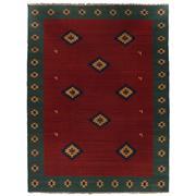Sale 8911C - Lot 41 - Persian Vintage Qashgai Kilim Rug (rare size), 400x300cm, Handspun Wool