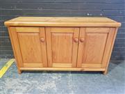 Sale 8959 - Lot 1086 - Pine Sideboard ((H:79 x W:136 x D:42cm)