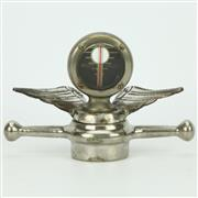 Sale 8356 - Lot 8 - Boyce Moto Meter Universal Model Winged Radiator Cap