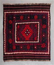 Sale 8480C - Lot 54 - Afghan Kilim 112cm x 100cm