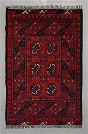 Sale 8493C - Lot 5 - Afghan Turkman 130cm x 70cm