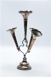 Sale 8864O - Lot 692 - Hallmarked Sterling Silver Epergne H: 24cm