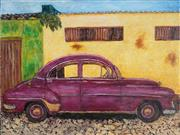 Sale 8927 - Lot 2093 - Stanley Perl (1942 - ) 'Cuban Car VII' acrylic on canvas, 46 x 61cm, inscribed verso -