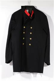 Sale 9007 - Lot 95 - A NSW vintage firemans coat with spare buttons