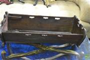 Sale 8390 - Lot 1416 - French Oak Crib