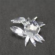 Sale 8412B - Lot 82 - Swarovski Crystal Crab with Box - Width 4.5cm