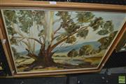 Sale 8413T - Lot 2052 - Preston, Landscape, oil on canvas board, 49.5 x 59.5cm, signed lower right